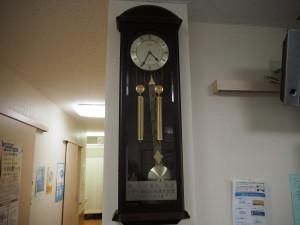 東京大学病院から寄贈された時計